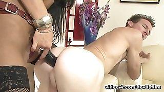 Amazing pornstar Angelina Valentine in Horny Femdom porn video