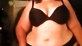 50 yr old mature Bbw showing that ass
