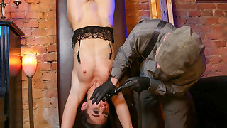 BADTIME STORIES - Intense BDSM session with beautiful German slave babe