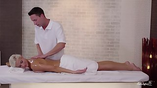 RELAXXXED - European massage porn with czech teen Ria Sun