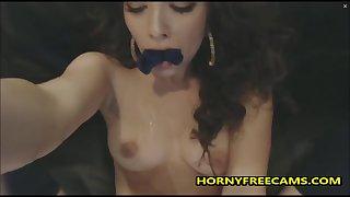 Cute Young Beauty Fucks Pussy Till Heavy Orgasm