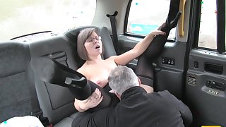 Driver Enjoys A Good Arse Rimming