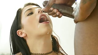Gina Valentina gets black cock to do some damage