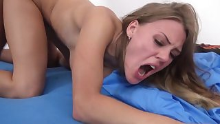 Stiff dick in her pink cherry for a whole xxx hardcore show