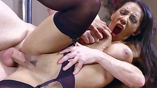 Sensual Priya Price works magic with boss's huge penis