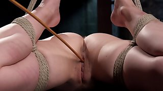 Obedient whore nailed in serious BDSM scenes