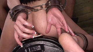 Maledom porn with slutty Nikki Bell