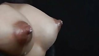 Cute Asian Babe Lactating