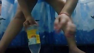Bottle fucking hard.. big pussy