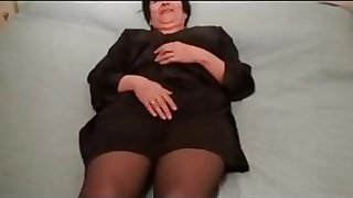 61 yo granny cums for me!