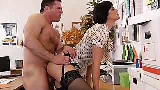 Bobbi gets fucked at work