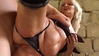 Exotic pornstar in hottest lingerie, facial xxx movie