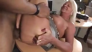 Sexy hungarian mature sucked and fucked