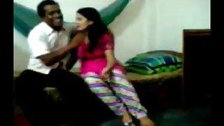 Driver fucking his malik's daughter in hotelroom -