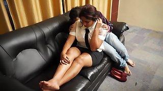 Desi Boss Romance With Secratary Bgrade Shortflm