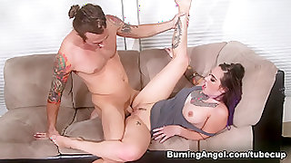Crazy pornstars Joanna Angel, Chad Alva in Best Cunnilingus, Big Ass xxx movie