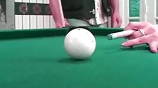 Hot Fuck on pool table