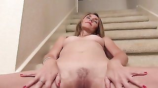 Tight pussy looks so pretty staring up at it