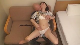 Best Japanese whore in Incredible Small Tits JAV video