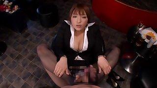 Incredible Japanese model Shiori Kamisaki in Amazing panties, fetish JAV movie