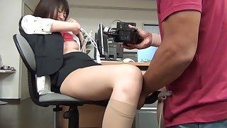 Amazing Japanese girl Love Saotome, Junna Kojima, Mao Sasaki in Fabulous bdsm, office JAV movie