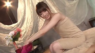 Best Japanese model Sayo Takechi in Crazy couple, college JAV video