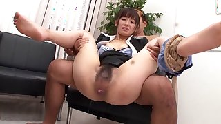Horny Japanese slut Rimu Sasahara in Exotic JAV censored Small Tits, College scene