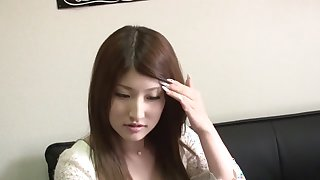 Best Japanese chick Saki Kobashi in Crazy casting JAV video