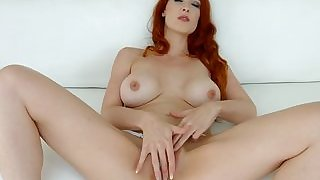 Anally creampied redhead