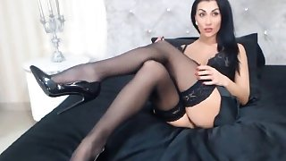 Leg Show  Celia High Heels Live Watch- cambirds dot com