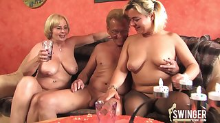 German threesome in Hamburg