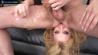 Sultry babe Amy Brooke can get a little dirty