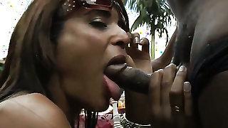 Brunette latin sex kitten Fernanda Lemos with massive boobs and smooth