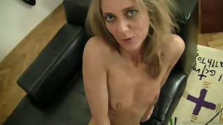 Skinny Natasha D loves the cock